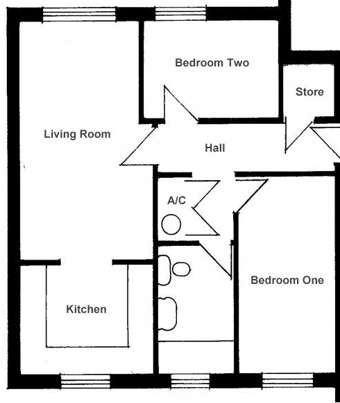 floorPlanPerrinPlaceTwoBeds